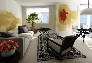 Living room design 3